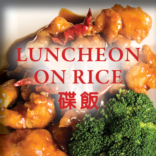 Asian Gourmet Luncheon Menu